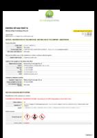 Enviro HP1600 Part B – SDS