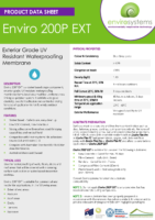 Enviro 200P EXT – Product Data Sheet