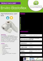 Enviro Elastoflex – Product Data Sheet