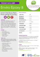Enviro Epoxy B – Product Data Sheet