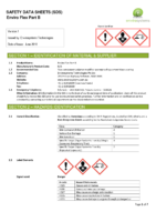 Enviro Flex Part B – SDS