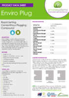 Enviro Plug – Product Data Sheet
