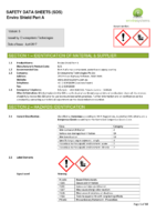 Enviro Shield Part A – SDS