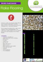 Envirosystems Flake Brochure