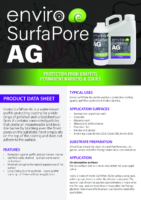 Enviro SurfaPore AG – Product Data Sheet