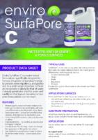 Enviro SurfaPore C – Product Data Sheet