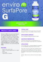 Enviro SurfaPore G – Product Data Sheet