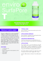 Enviro SurfaPore T – Product Data Sheet