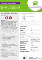 Enviro 250 NS – Envirosystems Product Data Sheet